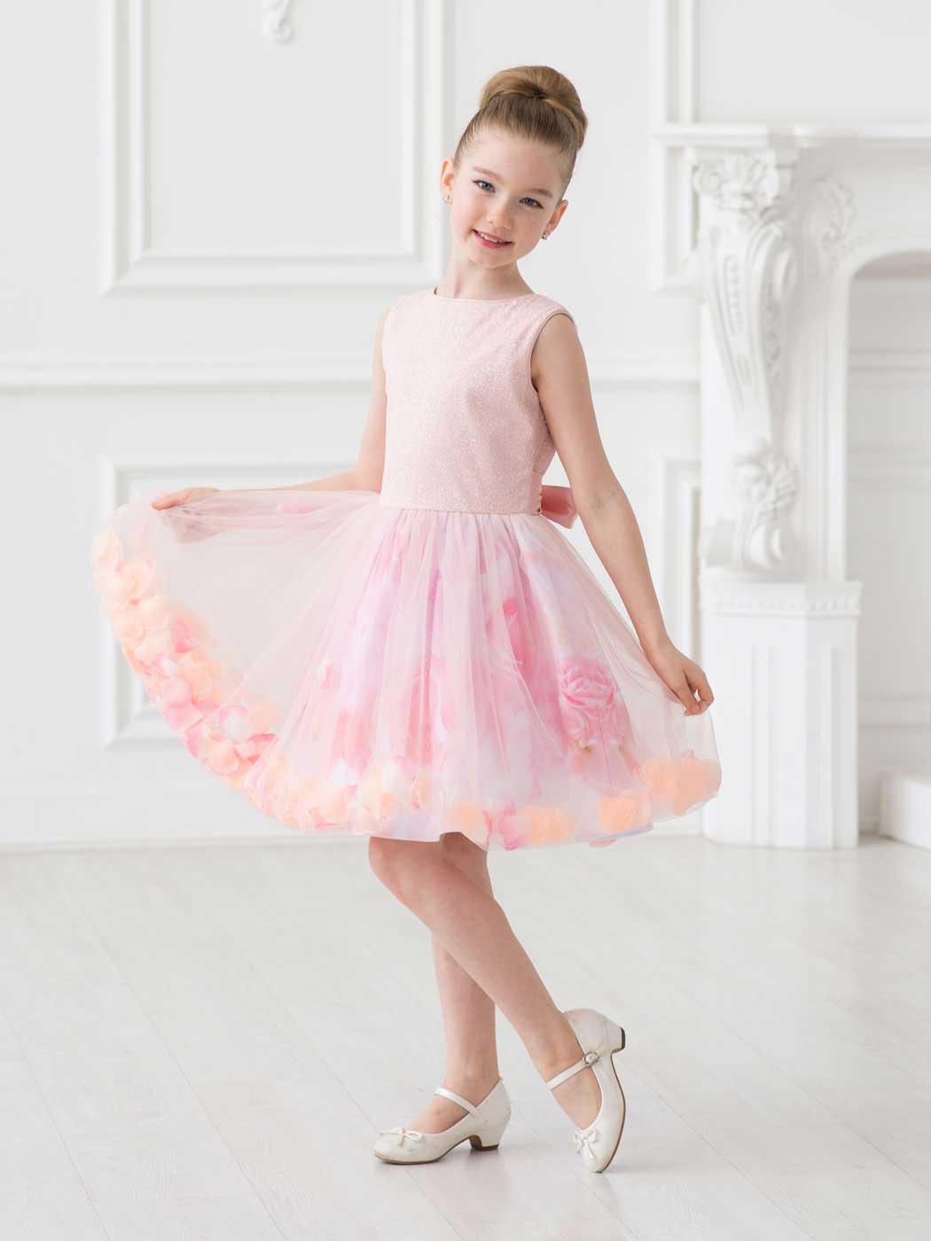 6e42c068511 Представляем Детское нарядное платье «Принцесса Ариель» кремовое