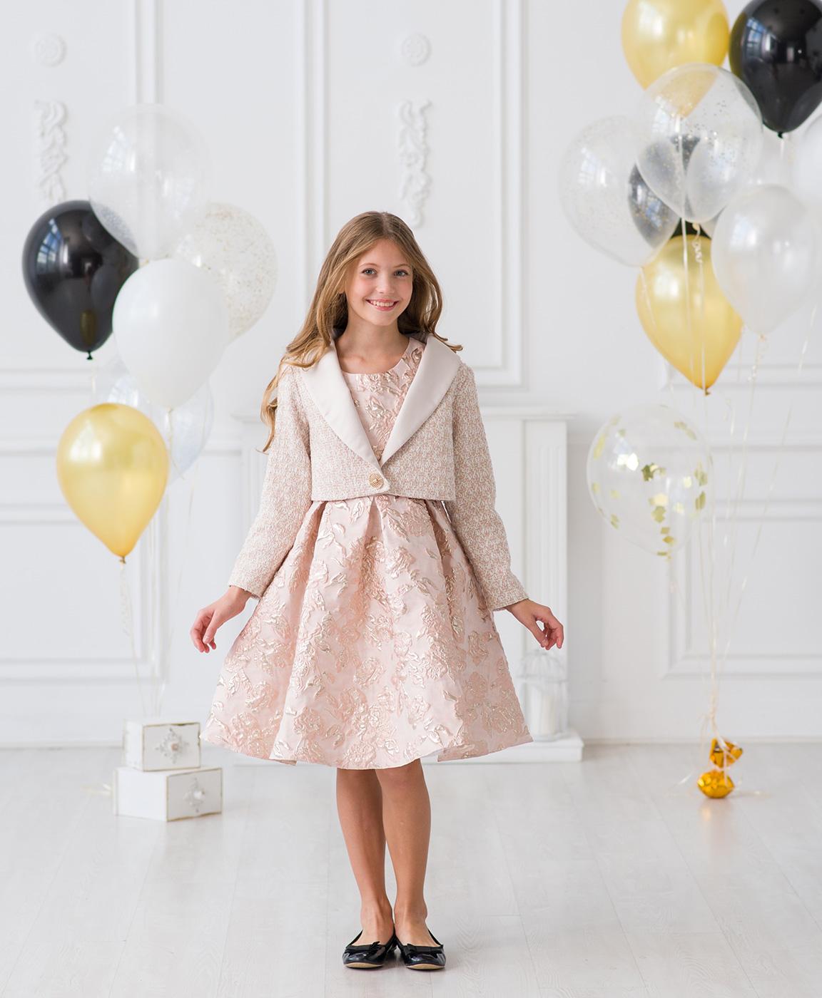 bca625172fa4 Нарядные платья от модного бренда Жакет для девочек к празднику. Нарядные  платья от модного бренда детской одежды Красавушка