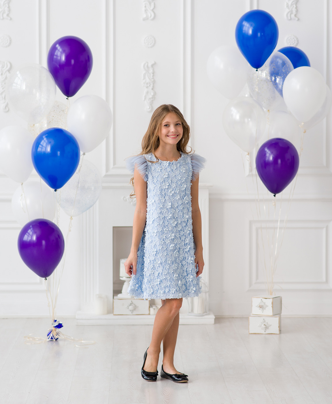 870c2cecaa27436 ... Нарядное платье для девочек к снежному балу. Нарядные платья от модного  бренда детской одежды Красавушка ...