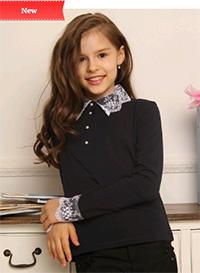 Школьные Блузки Из Трикотажа