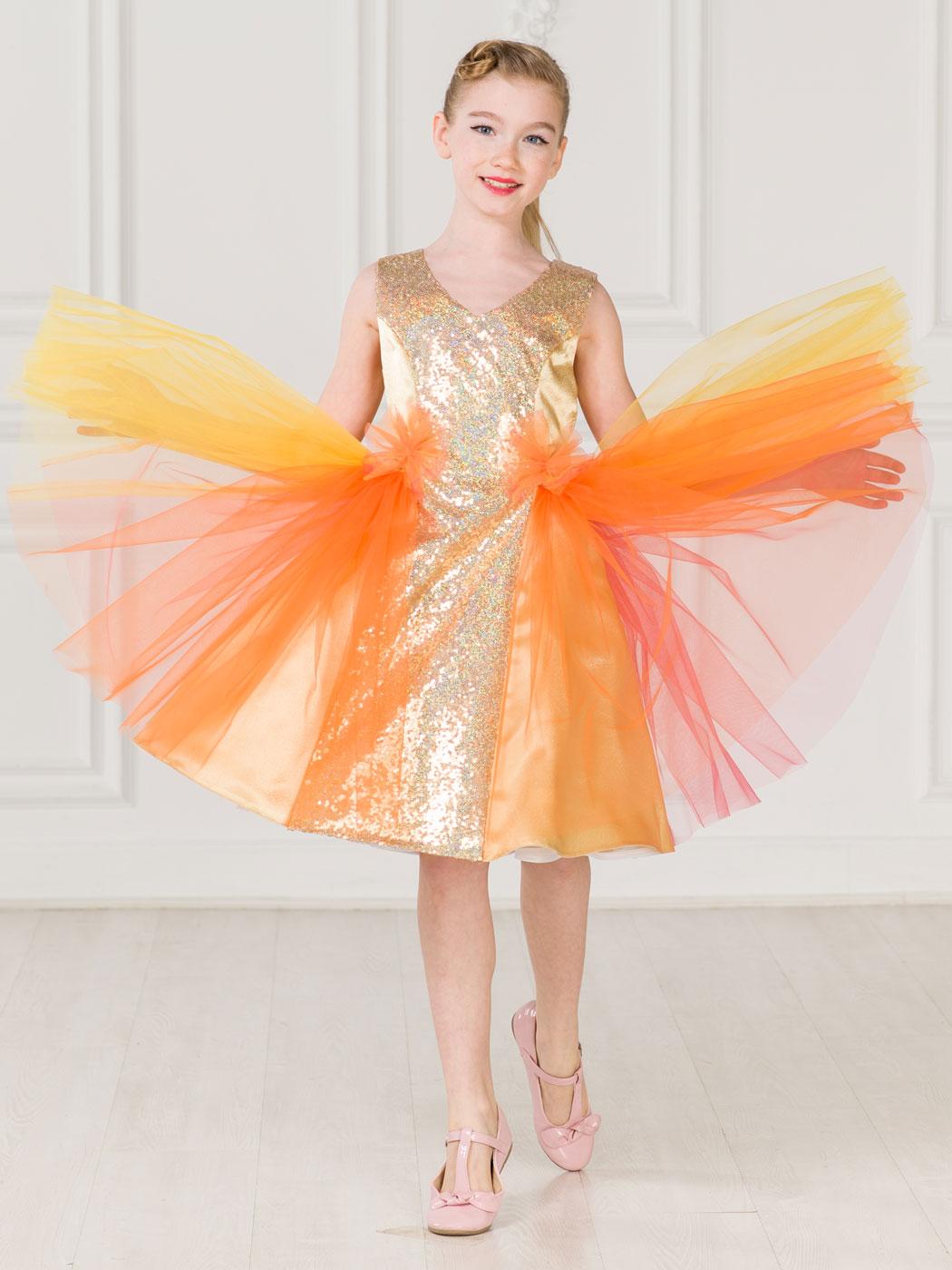 платье детское принцесса купить