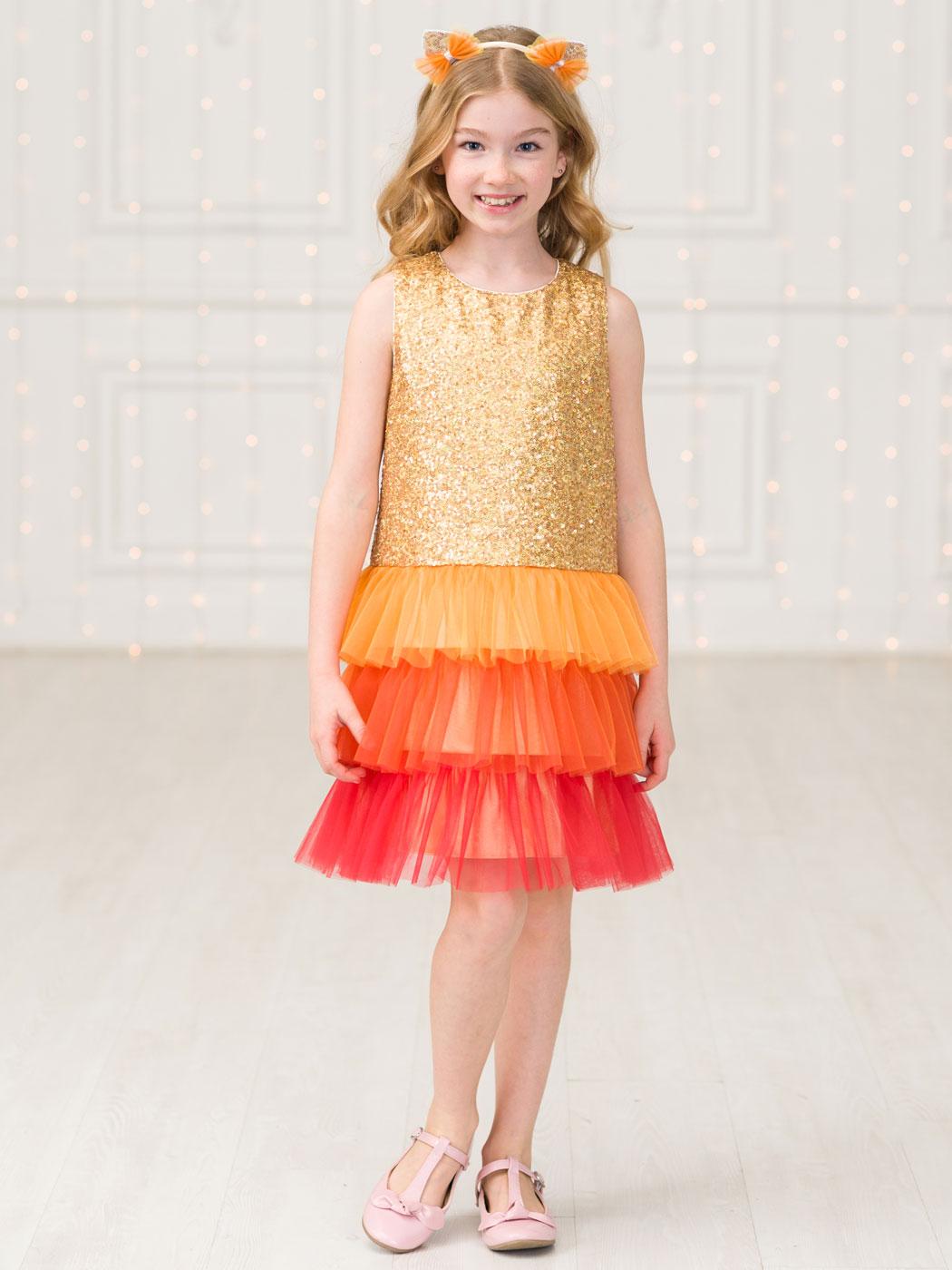 купить золотое платье в интернет магазине